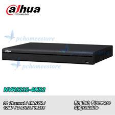 Dahua NVR5232-4KS2 P2P NVR 2 SATA 32Ch 1U 4K&H.265 Pro Network Video Recorder