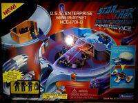 PLAYMATES U.S.S.ENTERPRISE MINI PLAYSET NCC-1701-D,STAR TREK TNG,LTD.ED.,SEALED