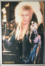 Cinema Poster: LABYRINTH 1986 (Jareth Double Crown) David Bowie Jennifer Connell