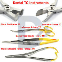 Dental Tungsten Carbide Instruments Orthodontic Needle Holder Forceps Scissor CE