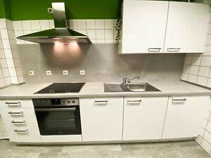 Einbauküche - Nobilia (Programm Lorris) weiß hochglanz