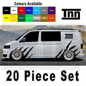 Stripes Stickers For VW Volkswagen Transporter T4 T5 Campervan Graphics Decals