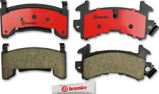 Disc Brake Pad Set-Premium NAO Ceramic OE Equivalent Pad Front,Rear Brembo