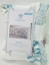 Simply Shabby Chic Blue Dascha Patchwork Quilted Standard Pillow Sham