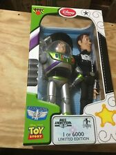 Disney Store Limited Edition Toy Story Talking Woody and Buzz Lightyear New