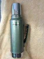 Vintage Aladdin Stanley No. A-944DH  Unbreakable Steel Quart Thermos No box