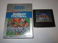 RealSports Football (Atari 5200, 1983)
