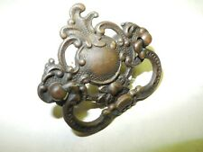 Vintage Singer Treadle Sewing Machine Drawer Pull, Solid Cast Brass, Nice Patina