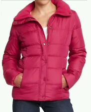 OLD NAVY WOMEN'S EASY PUFFER DOWN JACKET-PINK,medium
