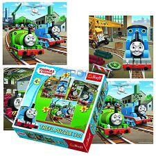 Trefl 3 in 1 20 + 36 + 50 pezzi Bambini Ragazzi THOMAS THE TANK ENGINE Puzzle