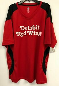NHL Official Detroit Red Wings T-Shirt Jersey, Size XL, NWT