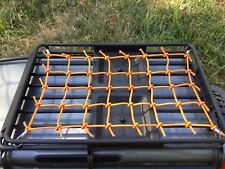 NEW COLOR / ORANGE....TRAXXAS TRX-4 Elastic Roof Net LAND ROVER DEFENDER....