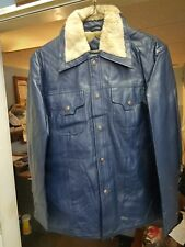 true vintage gino ponti soft calf type 100 % vinyl medium jacket