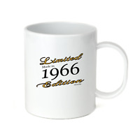 Coffee Cup Mug Travel 11 15 Birthday Limited Edition Made Born In 1966