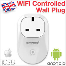WiFi Wireless Remote Control UK Smart Home Power On Socket Plug Phone Android KT