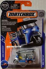 MATCHBOX 2018 MBX SERVICE MBX TUK-TUK BLUE