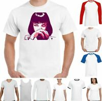 Pulp Fiction T-Shirt Mia Wallace Funny Classic Movie Quentin Tarantino Top