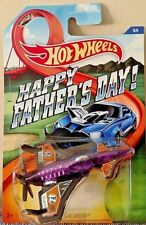 HOT WHEELS 2015 FATHER'S DAY 1/64 PURPLE POISON ARROW HFD #21 #3/4 RARE HTF