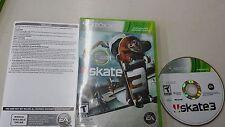 Skate 3, Xbox 360 Complete.