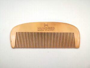 Wooden Beard Comb.