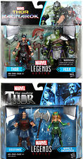 "Marvel Legends ~ 3 3/4"" THOR: RAGNAROK ACTION FIGURE 2-PACKS SET (2017) ~ Hulk++"