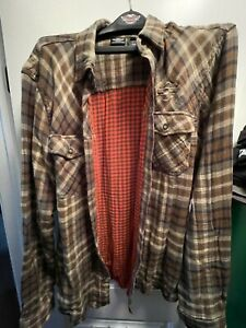 Harley-Davidson Flannel Shirt XL Tall