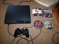 Sony Playstation 3 PS3 Slim 250gb bundle 4 games GTA v