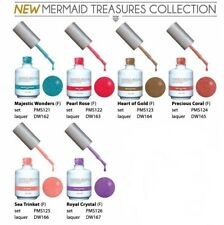 LeChat Perfect Match Mermaid Treasures Collection Gel + Nail Polish #121 - #126