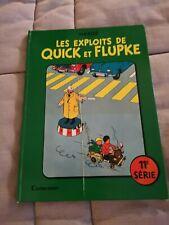 BD Hergé Les Exploits De Quick Et Flupke EDITION ORIGINAL 1969 11ème Série