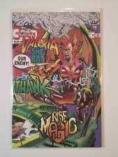 Valeria She-Bat #5 NM+ (Continuity Comics,1993) KnightHawk Rise of Magic!