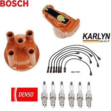Ignition Kit Distri.Cap Rotor Plugs Wire for Mercedes-Benz 220SE 1960-1965