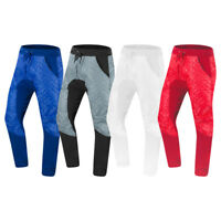 NEW Men Quilted Poly Shell Jogger Sweatpants Joggers Pants Fleece Drawstrings