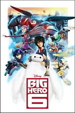 "065 Big Hero 6 - 2014 American Hot Movie Film 14""x21"" Poster"