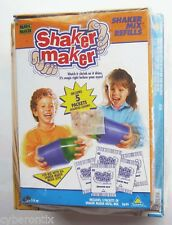 Shaker Maker Set Vintage 1992 ToyMax With Refill Mix Kit Rainforest Birds Magic