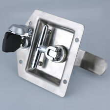 Door Hardware Electric cabinet plate pull fire box lock Industrial handle konb