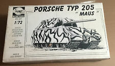 "PLANET MODEL MV 011 - 1/72 PORSCHE TYP 205 ""MAUS"" RESIN KIT - NUOVO"