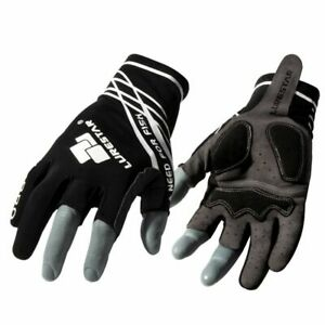 Fishing Gloves Three Fingers Microfiber Leather Japan Style Durable Accessories