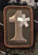 1* ONE ASS TO RISK ASTERISK ASSTERISK ARMY MULTICAM VELCRO® BRAND FASTENER PATCH