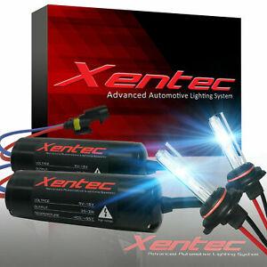 H3 Xentec Xenon Light HID Conversion Kit 35W for Headlight 6000K Plug&Play Roun