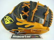 "Louisville Slugger Mesh 12"" Infield Baseball / Softball Glove Black Tan RHT HWeb"