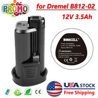 12V 3.5Ah Li-ion Battery for Dremel B812-02 B812-01 8200 8300 8220 rotary tools
