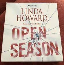 Linda Howard Open Season 4 CDs Abridged Suspense Novel