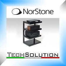 Norstone Esse Hi-Fi BK Mobile Supporto Porta Elettroniche Amplificatore DVD
