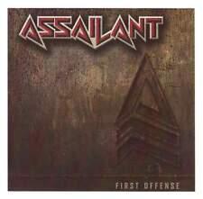 ASSAILANT- First Offense LIM. CD 1985 US Metal cult demo ala CRIMSON GLORY/FATES