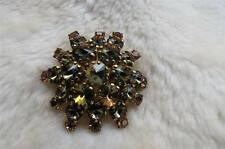 Flowers/Plants Gold Vintage Costume Brooches/Pins (1950s)
