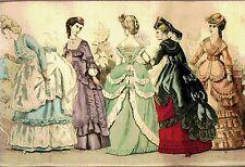 VICTORIAN LADIES 20~cross stitch chart #442~PEOPLE