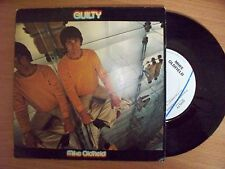 """MIKE OLDFIELD """"GUILTY"""" vinyl single with PICTURE SLEEVE Virgin records 1979"""