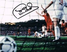 Signed Phil Neal Liverpool Autograph European Cup 1984 Photo