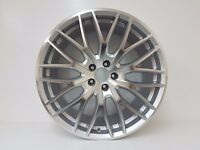 "4 x 20"" ALLOYS SILVER & POLISH ET35 FITS MERCEDES,AUDI A4,A5 A8 A7 VW NEW STYLE"