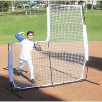 Baseball Pitching Screen Net Frame 7 Softball Practice Training Aid Protective